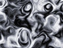 Cold chilli. Swirling abstract in gray-scale Stock Photos