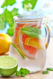Cold citrus fruit drink Stock Photo