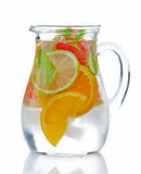 Cold citrus fruit drink Royalty Free Stock Photography