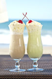 Cold cocktails for two Stock Images