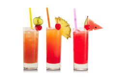 Cold coctails  Royalty Free Stock Photos