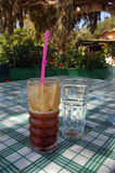Cold coffee. Royalty Free Stock Image