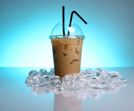 Cold coffee drink royalty free stock images
