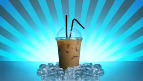 Cold coffee drink Royalty Free Stock Photo