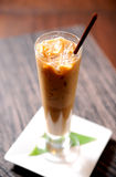 Cold coffee drink Stock Photography