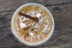 Cold coffee drink Royalty Free Stock Photos