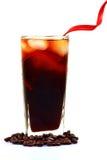 Cold coffee glass Stock Photo