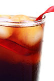 Cold coffee glass Stock Photos