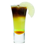 Cold coffee with ice Stock Photo