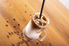 Cold coffee stock photo