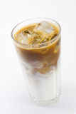 Cold coffee with milk Royalty Free Stock Photography
