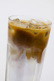 Cold coffee with milk Royalty Free Stock Photos