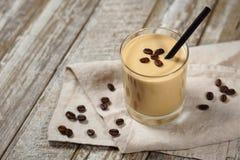 Cold Ice Coffee Milkshake Smoothie royalty free stock photography