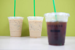 Cold coffee Royalty Free Stock Photo