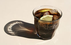 Cold cola drink Royalty Free Stock Photo