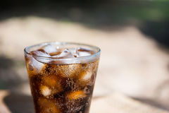 Cold cola most popular sparking water Royalty Free Stock Photography