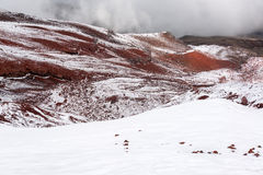 Cold Cotopaxi Landscape Stock Photography