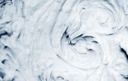 Cold creamy background Royalty Free Stock Image