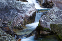 Cold Creek waterfalls Royalty Free Stock Image