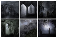 Cold creepy nights Royalty Free Stock Images