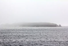 The cold current Litke in Barents sea. archipelago of Novaya Zemlya, strait Kara Gate Royalty Free Stock Image