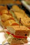 Cold Cut Sandwiches Royalty Free Stock Image