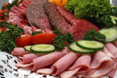 Cold cuts Stock Images