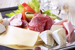 Cold cuts Stock Photography