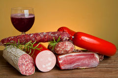 Cold cuts Stock Photos