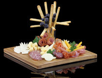 Cold cuts Royalty Free Stock Photo