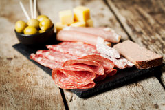 Cold cuts Royalty Free Stock Image