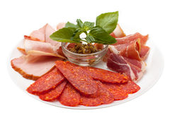 The cold cuts Stock Photos