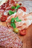 Cold cuts Royalty Free Stock Images