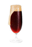 Cold dark beer. Royalty Free Stock Photography