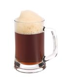 Cold dark beer in glass. Stock Photo