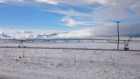 A Cold Day in Utah Royalty Free Stock Photography