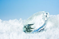 Cold diamond Royalty Free Stock Photos