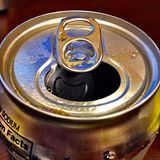 Cold Diet Cola Point of View Stock Photo