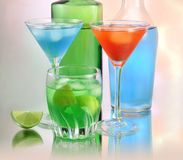 Cold drink Royalty Free Stock Photos