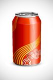 Cold Drink Can vector illustration