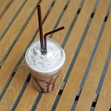Cold drink chocolate frappuccino Royalty Free Stock Photography