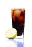 Cold-drink glass Royalty Free Stock Photos