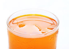 Cold drink with ice Royalty Free Stock Images