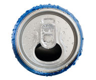 Cold drinking can Royalty Free Stock Images