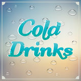 Cold drinks Royalty Free Stock Image
