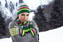cold feeling Στοκ Φωτογραφία