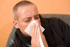 Cold flu Stock Photo