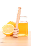 Cold and flu remedy Royalty Free Stock Image