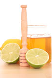 Cold and flu remedy Stock Photography