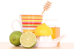 Cold and flu remedy Royalty Free Stock Photos